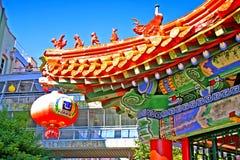 Australien brisbane chinatown Arkivbild