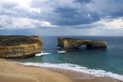 Australien bro london melbourne Arkivfoto