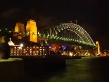 Australien bro sydney Royaltyfri Bild