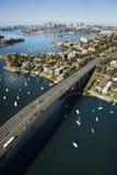 Australien bro sydney Royaltyfri Fotografi