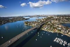 Australien bro sydney royaltyfri foto