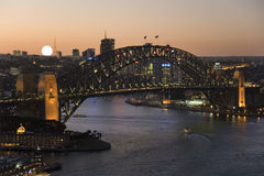 Australien brohamn sydney Royaltyfri Fotografi