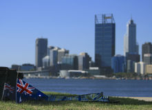 Australien dag Perth Fotografering för Bildbyråer