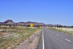 Australien det nordliga territoriet, vildmark, McDonnell spänner royaltyfri foto