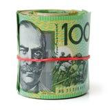 Australien dollar, sedel av Australien Arkivbilder