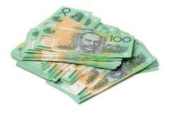 Australien dollar, sedel av Australien Royaltyfria Bilder