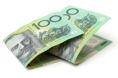 Australien dollar, sedel av Australien Royaltyfri Fotografi