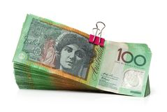 Australien dollar, sedel av Australien Arkivfoto