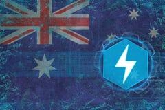 Australien energetics Elkraftbegrepp Royaltyfria Foton