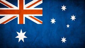 Australien flagga Arkivbilder