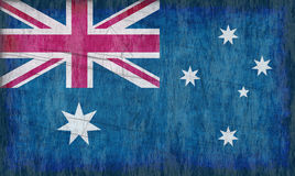 Australien flagga royaltyfri illustrationer