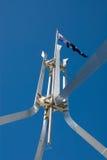 Australien flaggapol Royaltyfri Foto