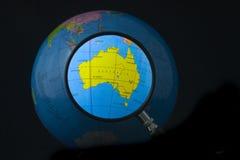 Australien fokus Arkivfoton