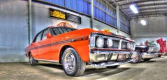 Australien Ford Falcon des années 1970 Images libres de droits