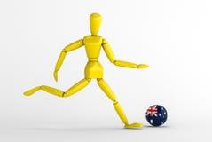 Australien fotboll Royaltyfria Foton