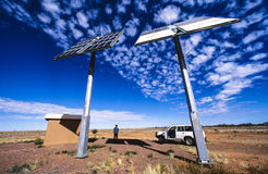 Australien-Glasfaser-Relaisstation Lizenzfreies Stockbild