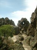 Australien hängande rock Royaltyfri Fotografi