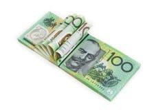 Australien hundert Dollar Lizenzfreies Stockbild