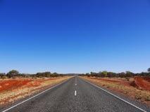 Australien huvudvägväg Royaltyfria Bilder