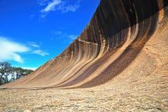 Australien hyden rocken Arkivfoton