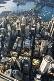 Australien i stadens centrum sydney Arkivfoto