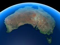 Australien jord Arkivbild