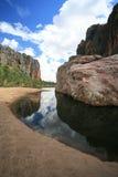 Australien klyftawindjana Arkivbild