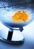 Australien-Kugel Lizenzfreies Stockbild