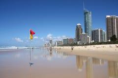 Australien kustguld Arkivbild