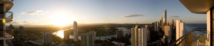 Australien kustguld Arkivfoto