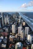 Australien kustguld Arkivbilder