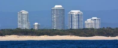 Australien kustguld queensland Arkivfoto