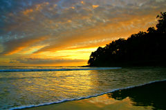 Australien kustsolsken Arkivfoto