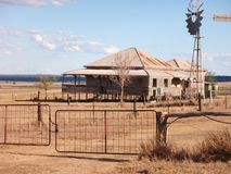 Australien lantbrukarhem outback queensland arkivfoton