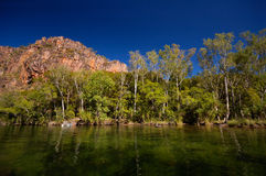 Australien liten vik Arkivfoton