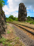 Australien monumentqueensland robbs Arkivfoto