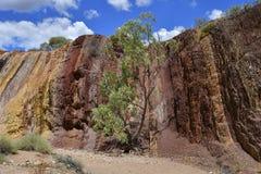 Australien, Nordterritorium, Hinterland, ockerhaltige Gruben lizenzfreies stockbild