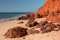Australien-Nordterritoriumlandschaft-Francois-peron Park stockbilder