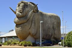 Australien NSW, Goulborn, skulptur Royaltyfri Foto