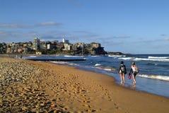 Australien NSW, manlig strand Royaltyfri Foto