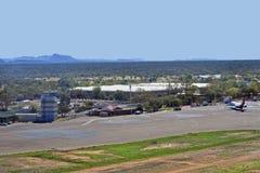 Australien, NT, Alice Springs Airport stockfotos