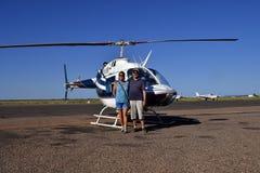 Australien NT, Alice Springs, semester Arkivbild