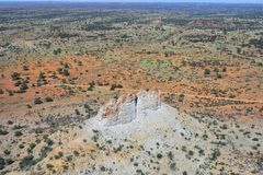 Australien, NT, Kammer-Säulen-historische Reserve lizenzfreie stockfotos