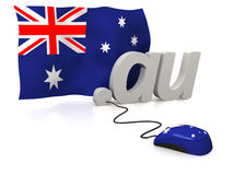 Australien online Royaltyfria Bilder