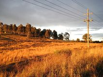 Australien outback Arkivbild