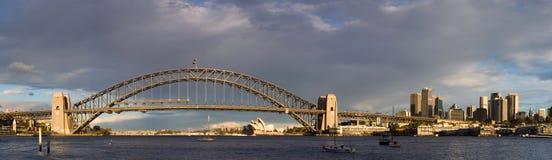 Australien panorama sydney Royaltyfri Foto