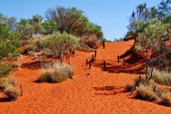 Australien röda mitt Arkivbild
