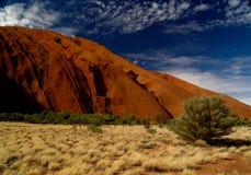 Australien s uluru Royaltyfri Fotografi