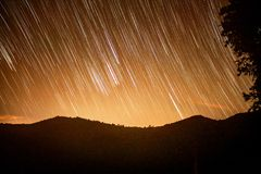 Australien Startrails Images stock