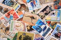 Australien-Stempelansammlung lizenzfreie stockfotografie